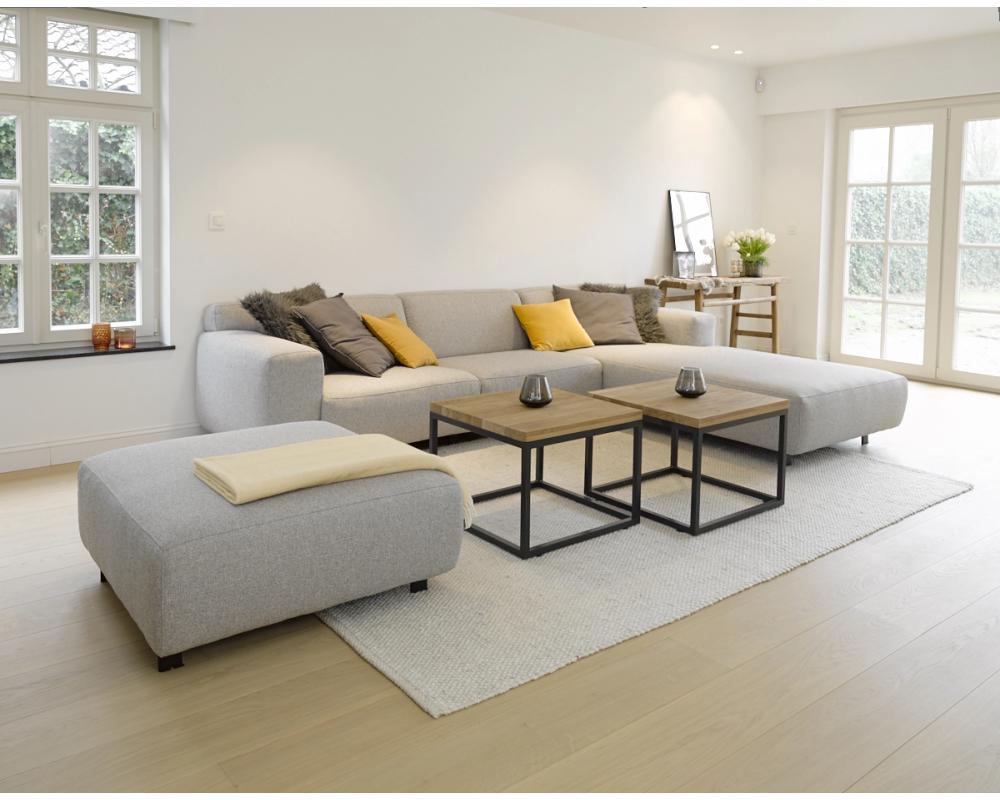 Zetel Hoeksalon Vesta Cabana Light Grey Grijs Interieur Woonkamer Huis Interieur Woonkamer Ideeen Modern