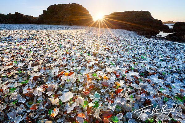 The Best Sea Glass Beaches In The United States Glass Beach