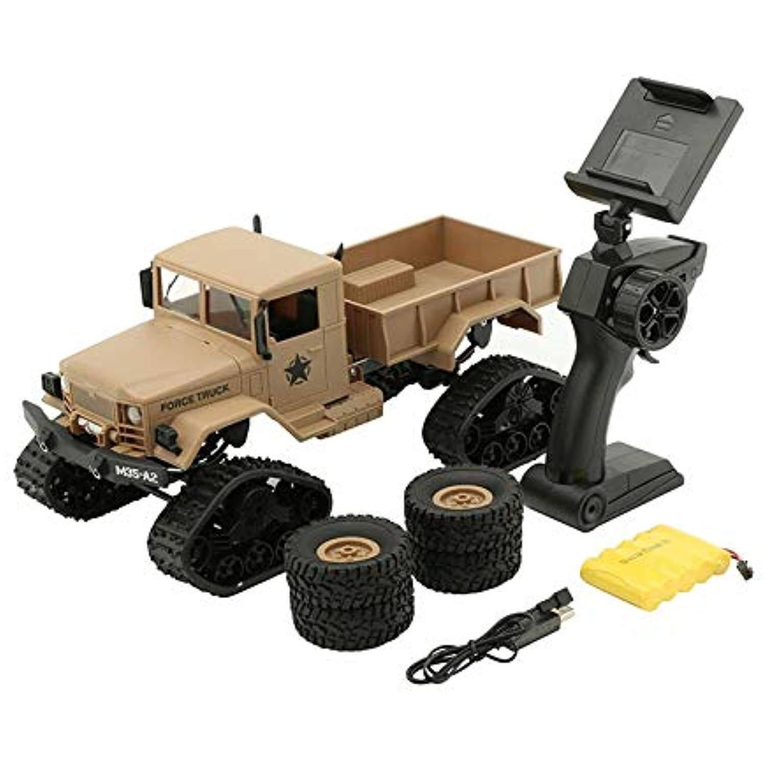 RC Cars 4WD 1/16 Remote Control Military Truck