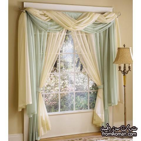 صور ستائر سيدار فخمة 2013 مجموعه رائعه من ستائر سيدار Photo Home Curtains Living Room Curtain Styles