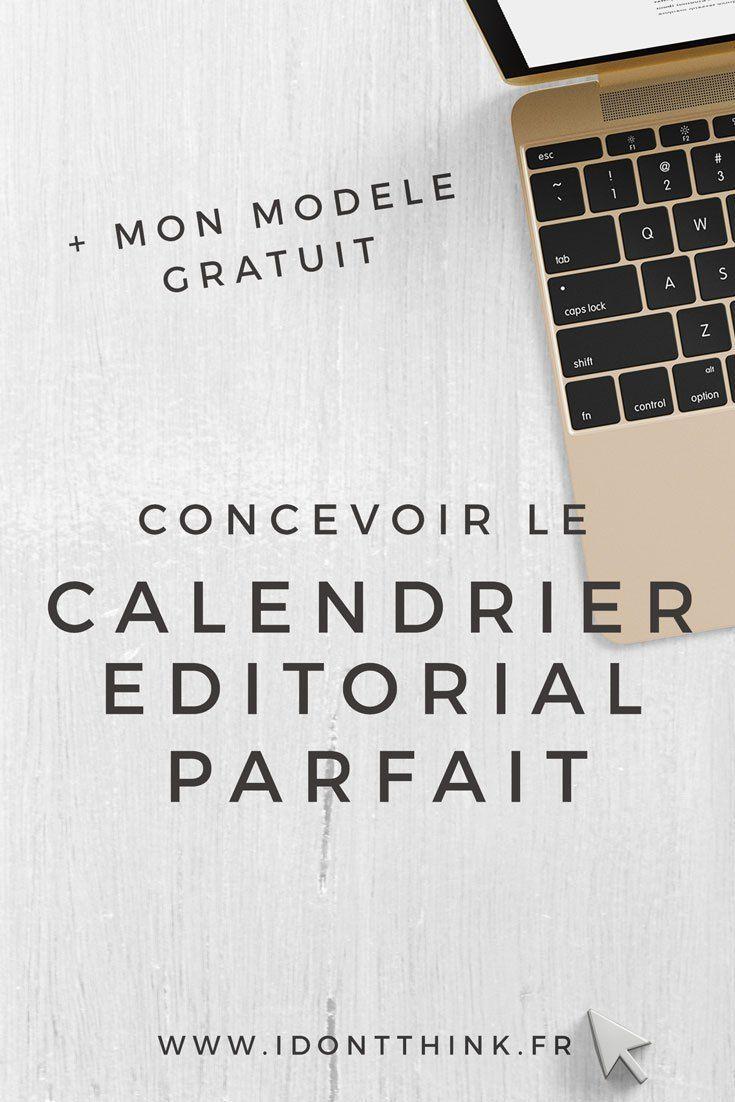 Calendrier Editorial Modele.Modele Gratuit De Calendrier Editorial A Telecharger Et A S