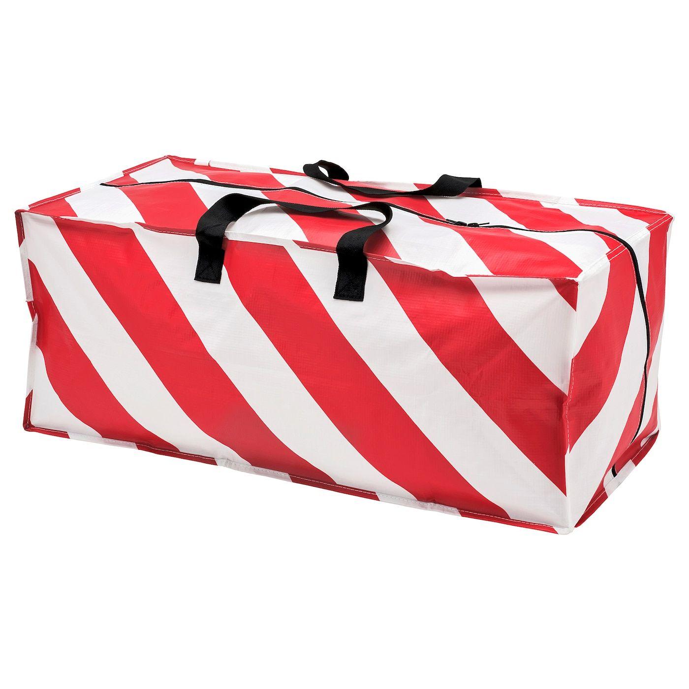 Vinter 2019 Sac De Rangement Rouge Blanc Raye Ikea Tasche Rot Taschen Aufbewahrung Taschen