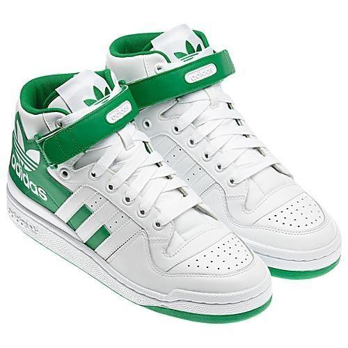 c00d0a8747c Adidas Forum Mid RS XL Shoes White/Green | Kicks Store Ltd | ay ...