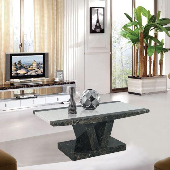 Buy Stone Marble Coffee Table Furnitureinfashion Uk Coffee