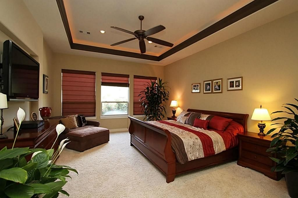 12702 Hunters Canyon Cypress 77429 4358 Home Value Har Com Living Room Furniture Layout Living Room Floor Plans Brown Living Room Decor