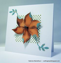 Card made using Stampin' Up supplies: dot dot dot stamp, two step bird punch-how to get started card making
