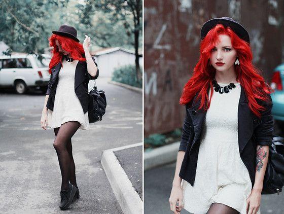 bright red ariel hair