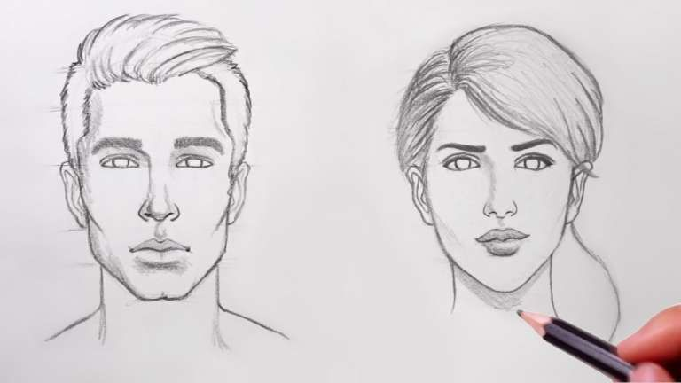 16 Drawing The Human Face