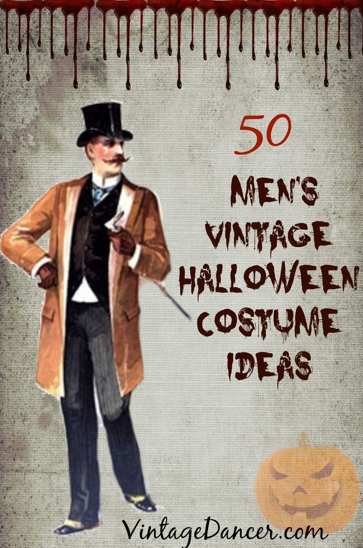 50 men's vintage halloween costume ideas | 1940s mens fashion