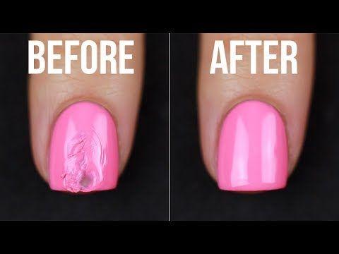 How To Fix Smudged Nail Polish 5 Ways Kelli Marissa Youtube Nail Polish Nail Polish Dry Faster Chipped Nail Polish