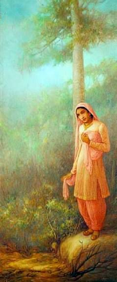 Ustad Allah Bux www.facebook.com/paintersofpakistan