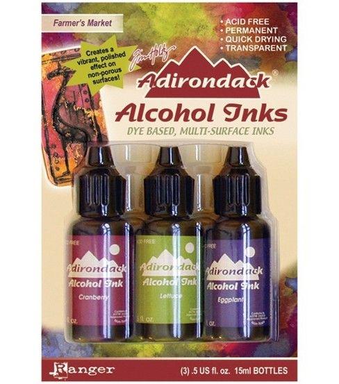 Tim Holtz Adirondack Alcohol Inks Set Tuscan Garden New