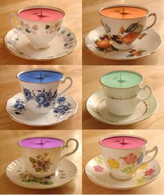 tea darling?: Afternoon Tea Tuesday: Teacup candles