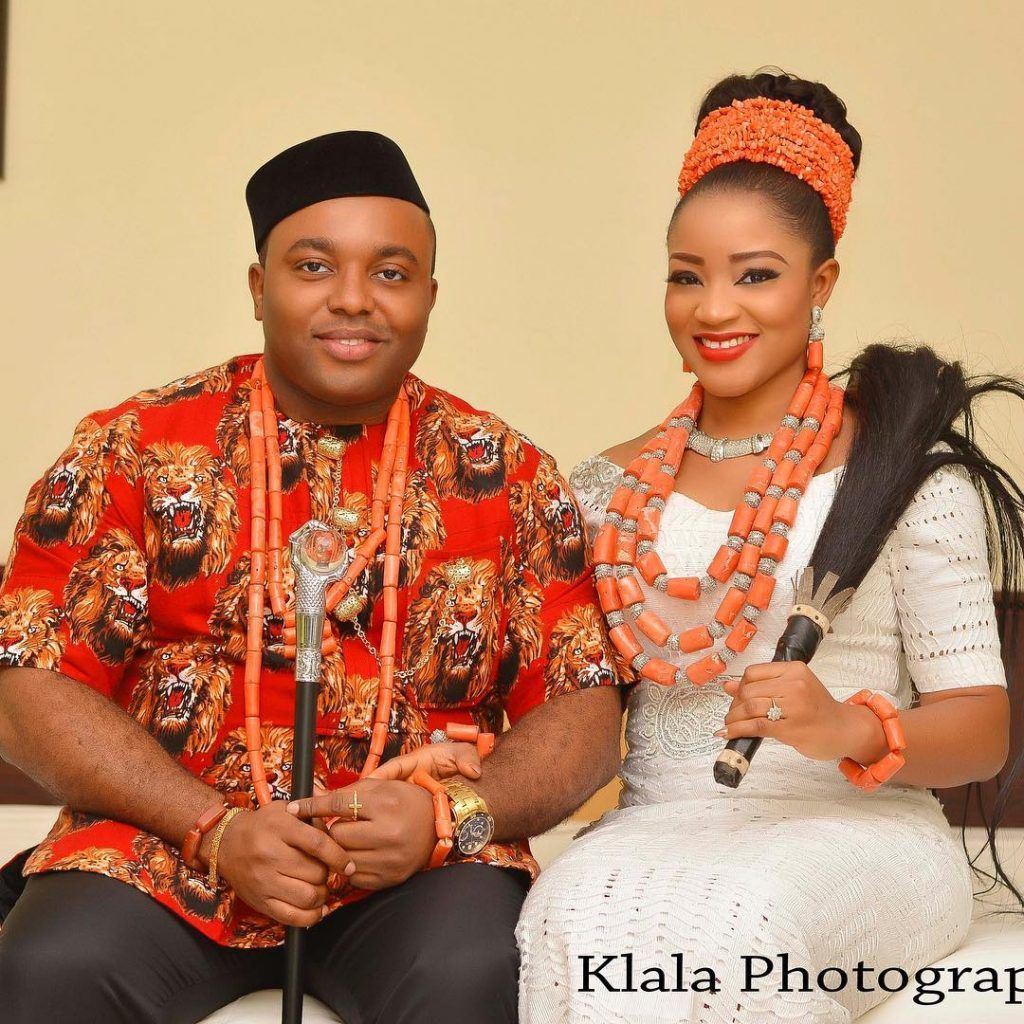 Wedding Hairstyle For Man: Igbo Traditional Wedding Attire