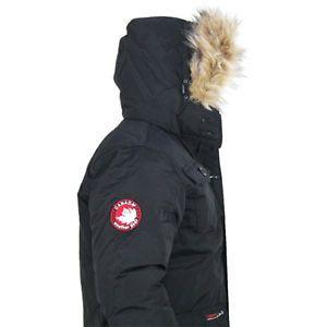 Buy Canada Weather Gear Goose Men S Vestee Down Parka Jacket Coat Deal Tikka Parka Jacket Down Parka Jackets