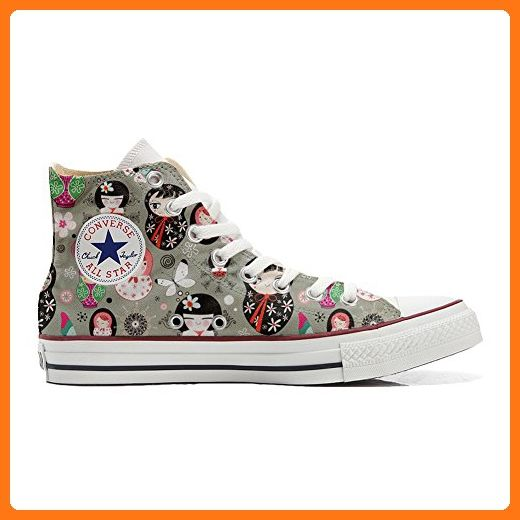 Converse All Star Hi Customized personalisierte Schuhe (Handwerk Schuhe) Matrilu