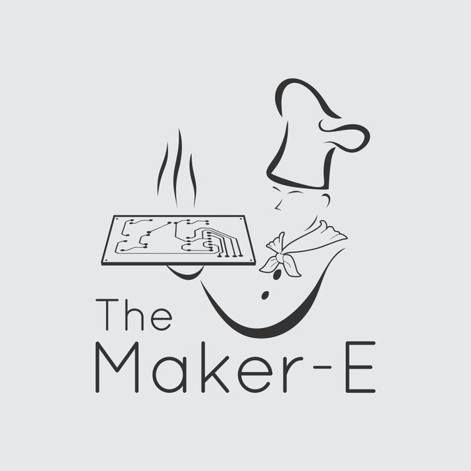 """Design a cutting edge """"Maker"""" logo to be laser cut into steel! by bararhemada"""