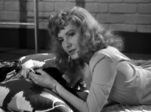 "Jean Arthur in ""The More The Merrier"" (1943)"