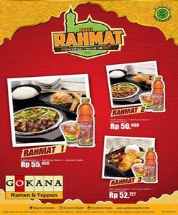 Gokana Ramen Restaurant Promo Menu Hemat Bukber http://www.perutgendut.com/read/gokana-ramen-restaurant-promo-menu-hemat-bukber/1955 #Promo #Food #Kuliner #Indonesia