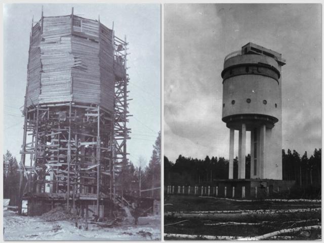 Водонапорная башня узтм