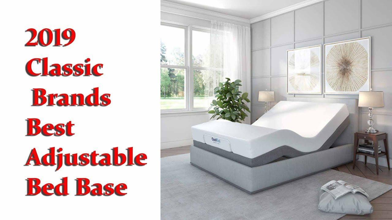2019 Classic Brands Best Adjustable Bed Base Classic Brands Adjustable Comfort Upholstered Adjustable Bed Base Wi Adjustable Bed Base Adjustable Beds Bed Base