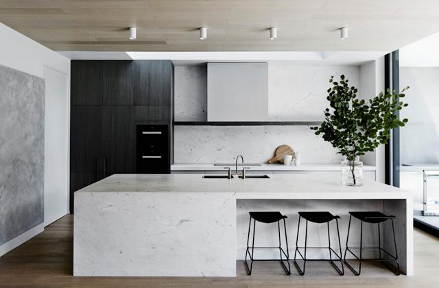 alerta tendncia cozinhas em preto e branco by httphome - Home Styling Blog