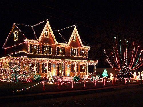 Fotos Casas Decoradas Navidad.Decoracion Navidena Al Exterior De Las Casas Directa De