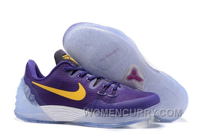 a73f5e719e15 ... best nike kobe venomenon 5 purple white yellow top deals price 85.69  women stephen curry shoes