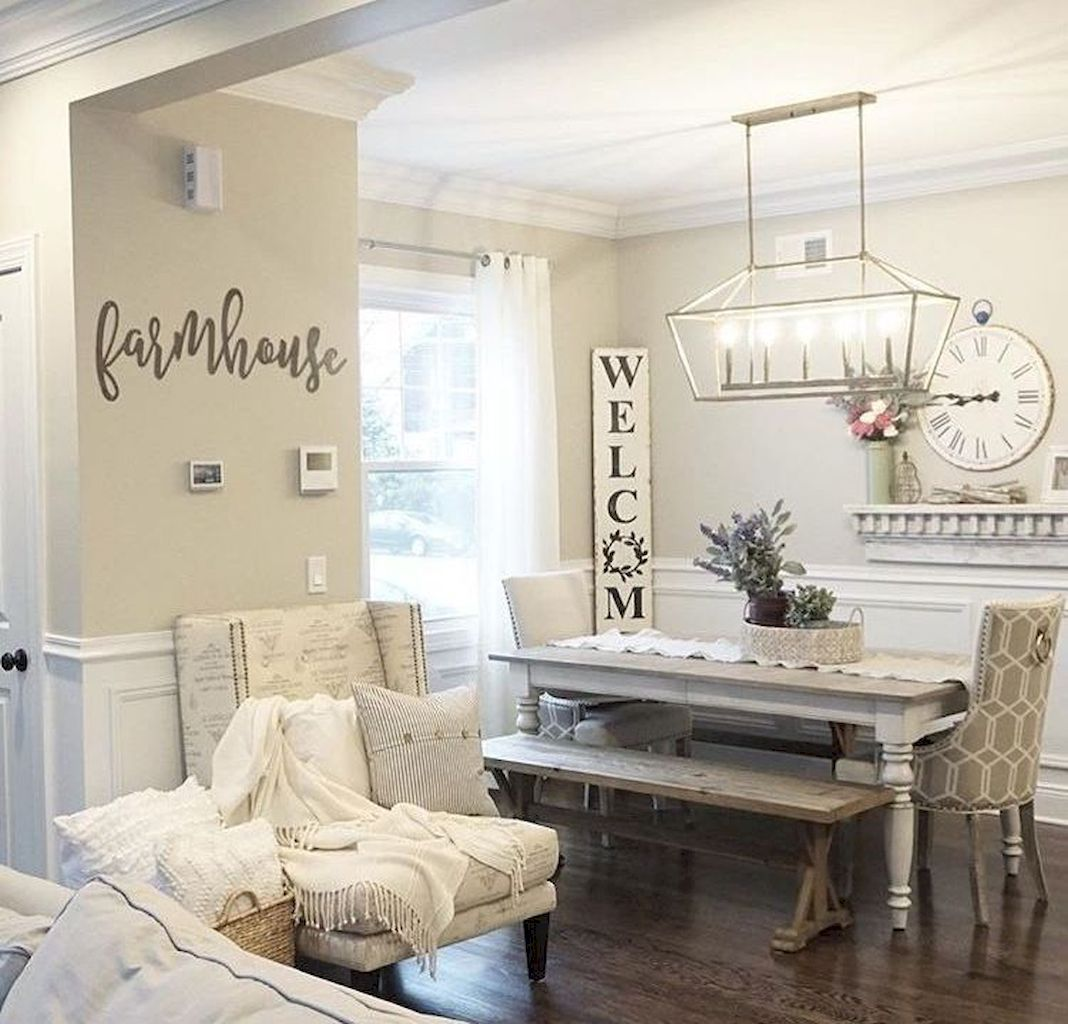 Enhance Dinning Room With Farmhouse Table images