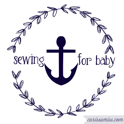 Carissa Miss: sewing for baby series: baby leggings and knot hat...