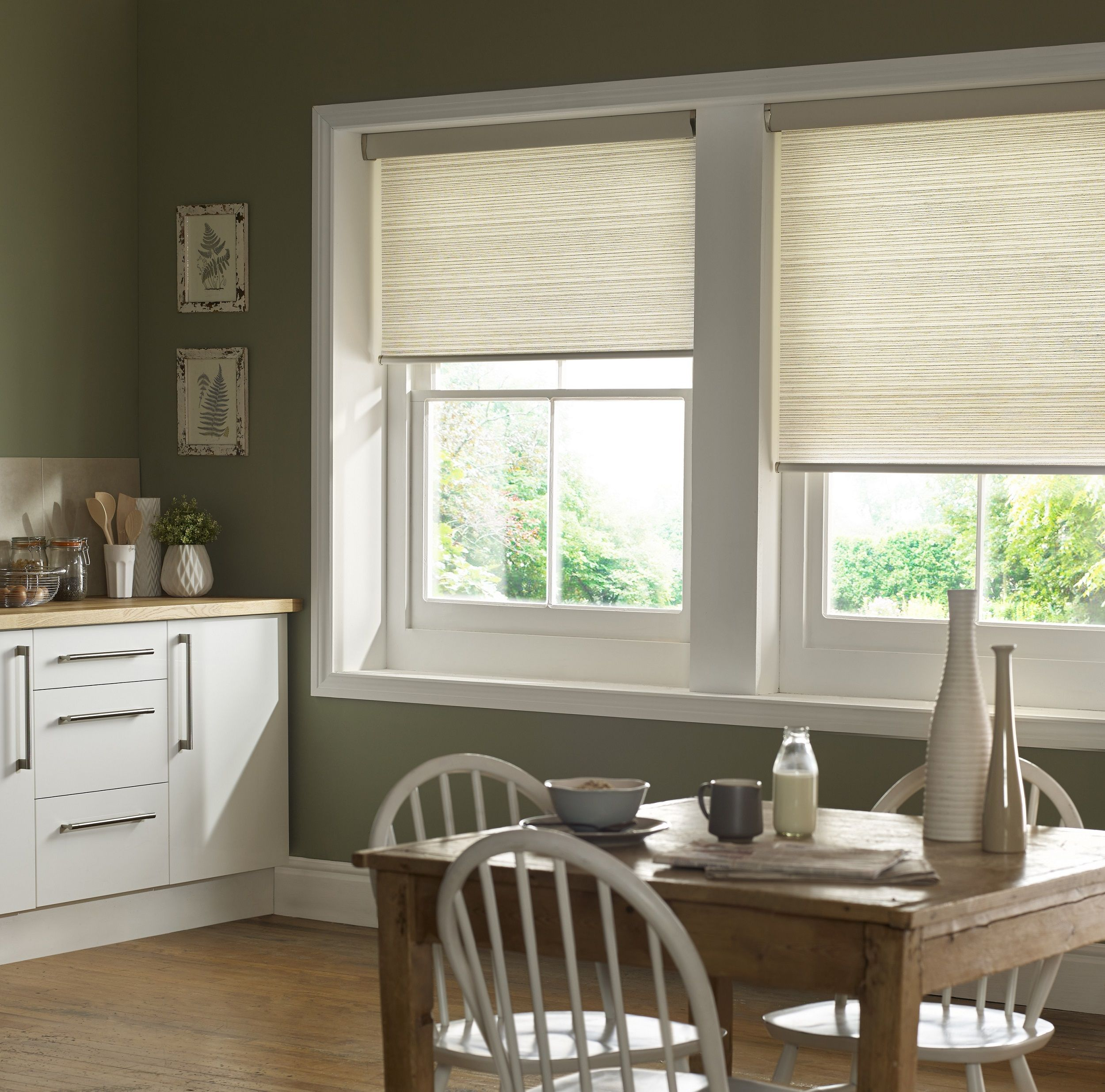Kassala Emerald Kitchen Roller Blind From Style Studio Spring Home
