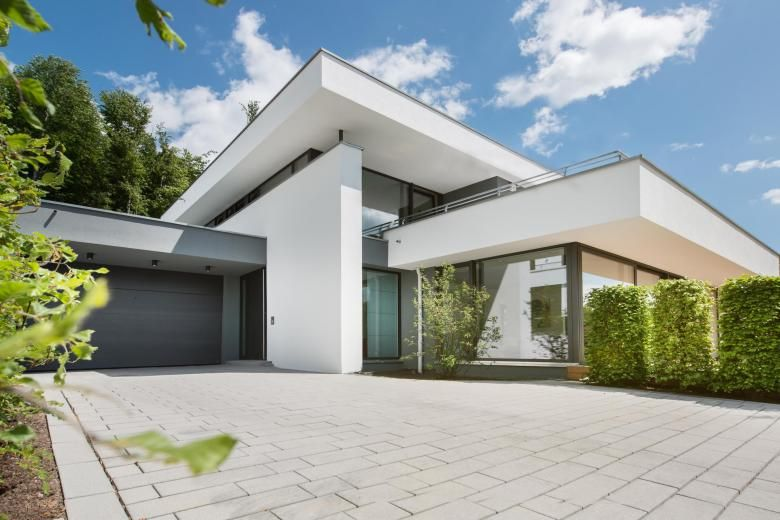 Hausbau moderner baustil  Hausbau: Darum ist das Flachdach besser als sein Ruf | Flachdach ...