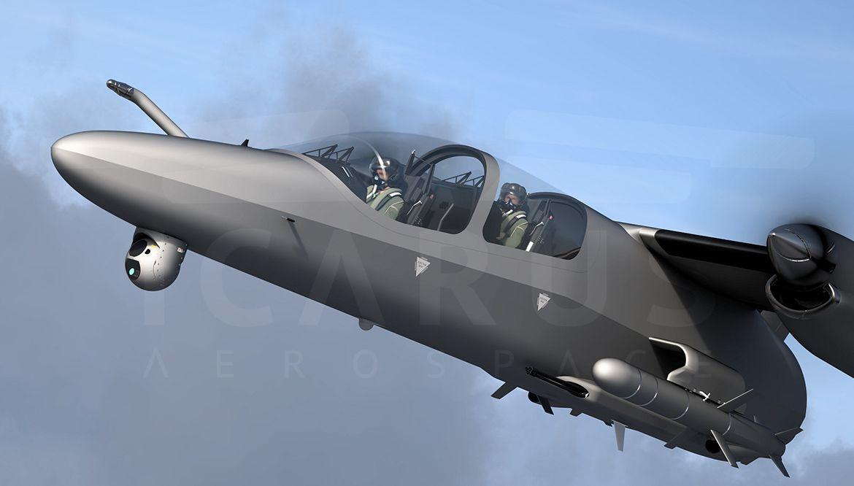 TACTICAL AIR VEHICLE - TAV - Icarus Aerospace