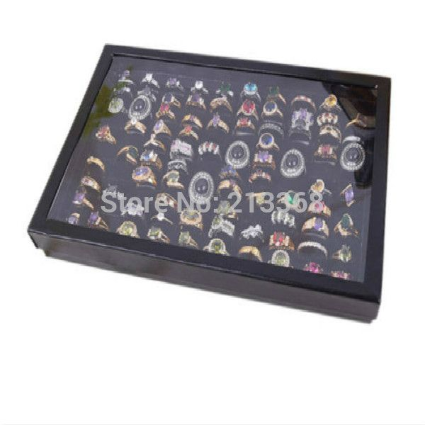 Holder Only Jewelry Display Case New 100 Slot Ear Ring Pin Show Box
