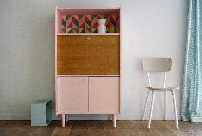 Meubles secretaire_vintage_anatole_6 rénovés | diy | Pinterest ...