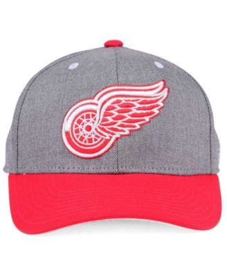 premium selection 07f33 611cb adidas Detroit Red Wings 2Tone Adjustable Cap - Heather Gray Red Adjustable