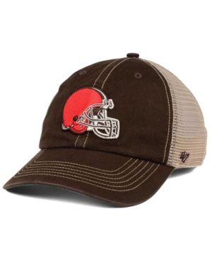 b0859a08a8504 47 Brand Cleveland Browns Trawler Clean Up Cap - Brown Adjustable ...