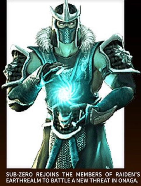 How much Sub-Zero in mortal Kombat deception looks like