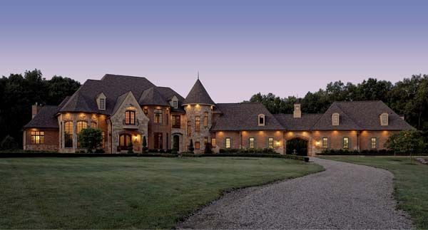 Just A Small Little House French Country House Plans French Country House Country Mansion