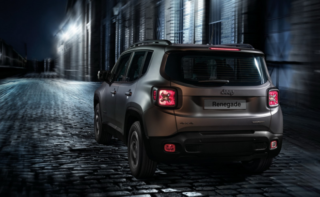 Jeep Renegade Night Eagle Edition Rear End The News Wheel Com
