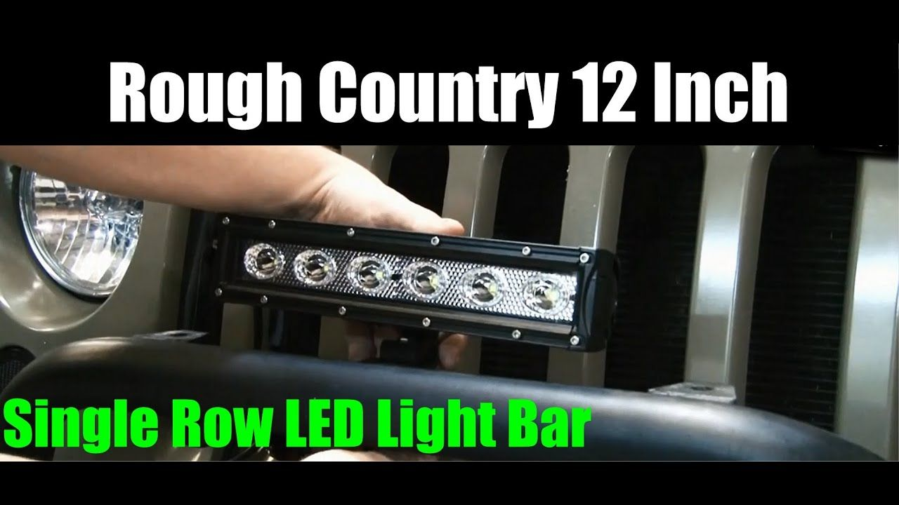 20 Inch Light Bar Single Row In 2020 20 Inch Light Bar Bar Lighting Light