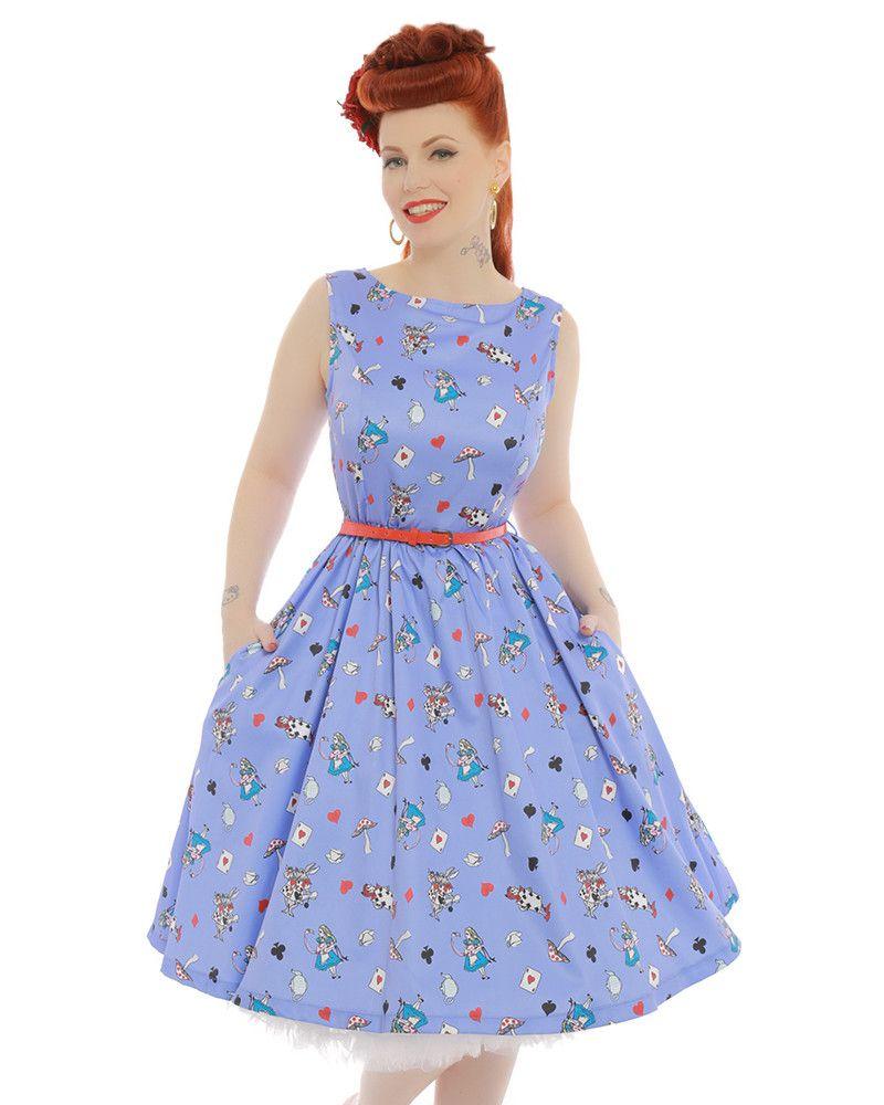 alice i eventyrland kjole