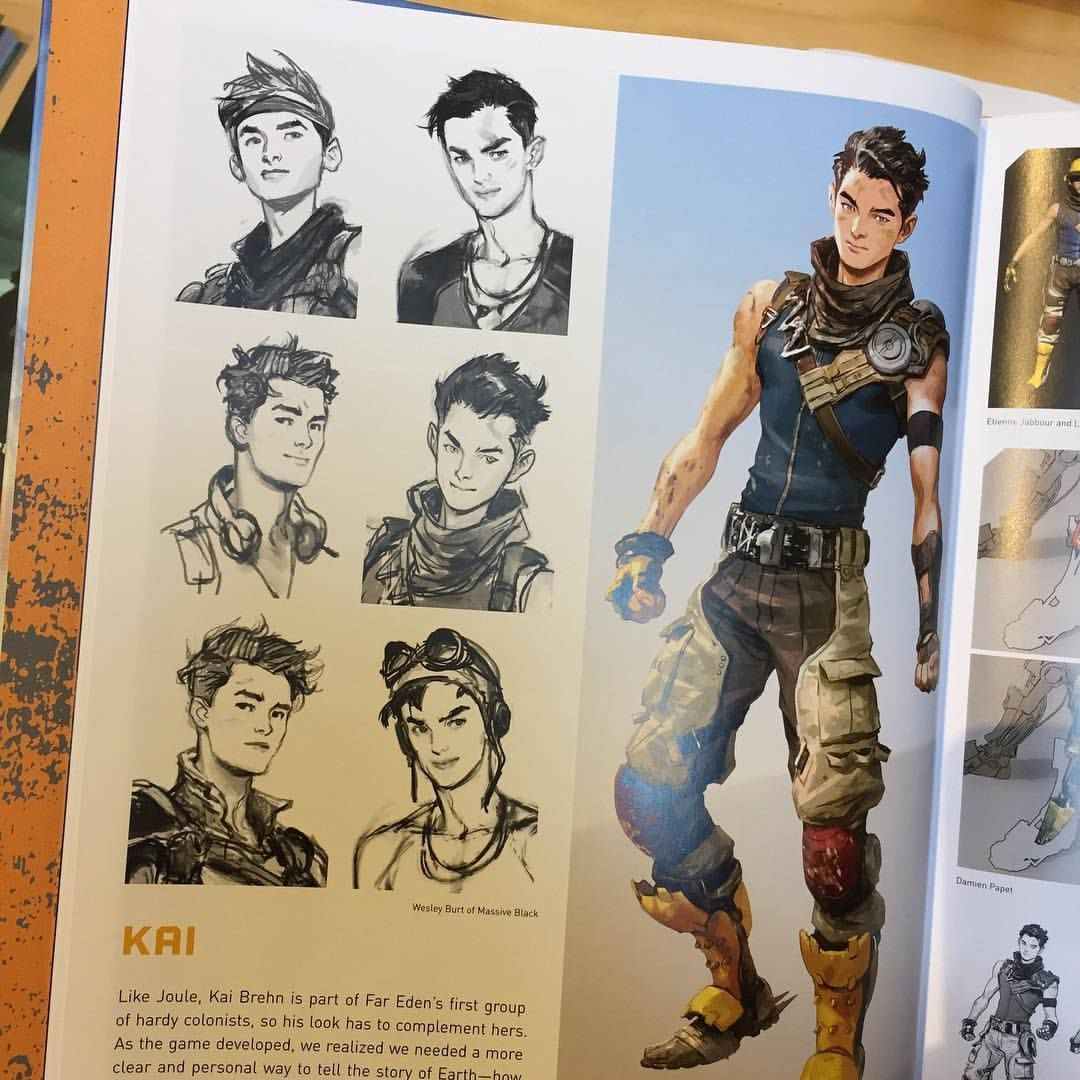 Really cool to see has an artbook and a little bit of work I did made it in