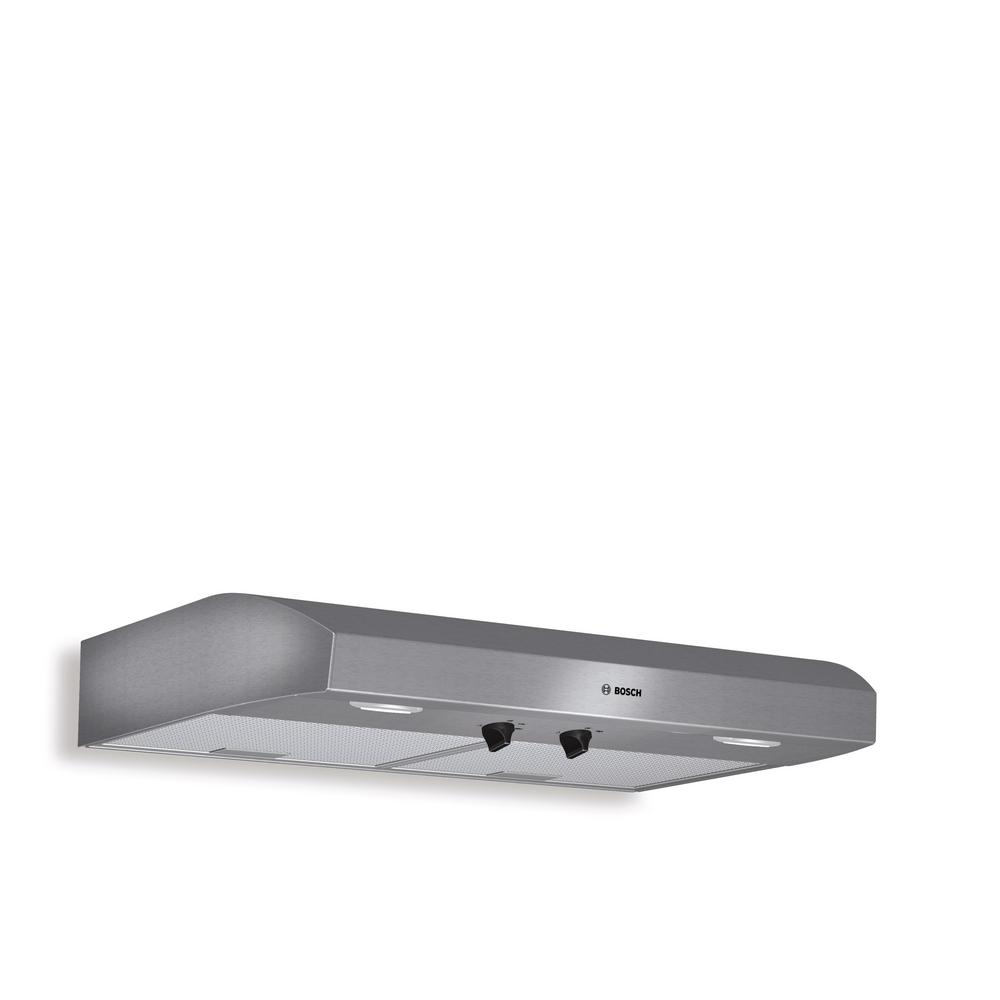 Bosch 500 Series 30 In Undercabinet Range Hood With Lights In Stainless Steel Duh30252uc The Home Depot Range Hood Bosch Stainless Steel Range Hood