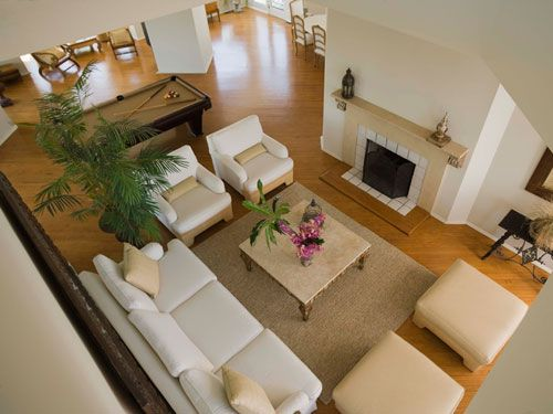 6 Places You Don T Have To Organize Long Living Room Long Living Room Layout Awkward Living Room Layout