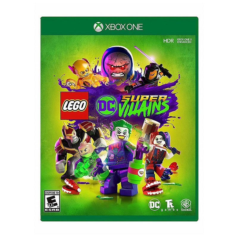 Xbox One Lego Dc Super Villains Video Game Products Pinterest