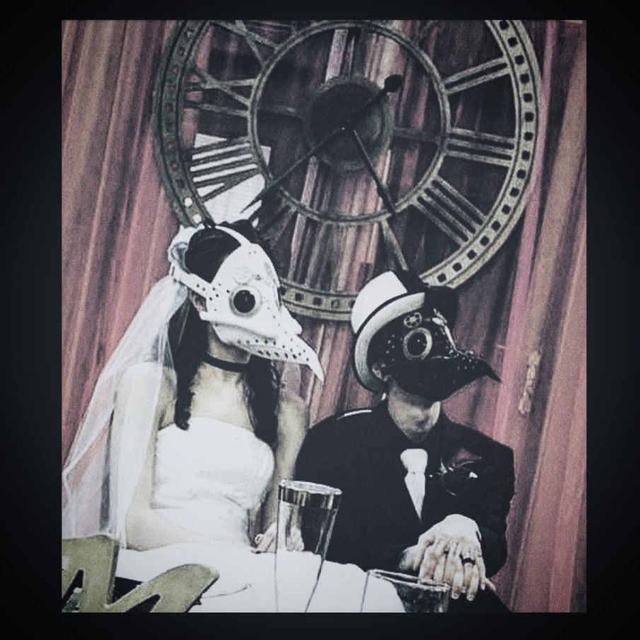 Steampunk Couple Aesthetic Goth Wallpaper Wedding Themes
