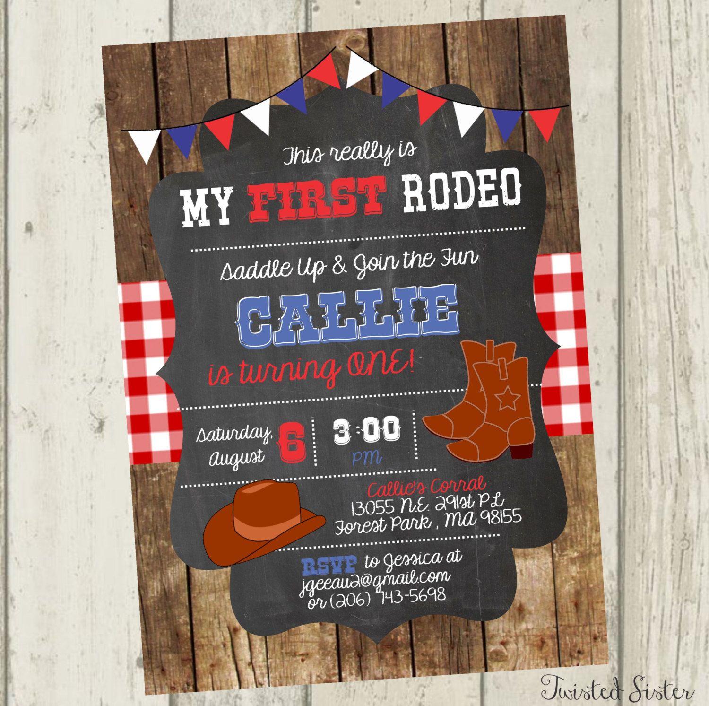Cowboy birthday invitation cowgirl birthday invitation western cowboy birthday invitation cowgirl birthday invitation western birthday invitation first birthday invite cowboy first birthday filmwisefo