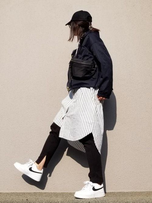 29477a2cee8 may_shion|しまむらのキャップを使ったコーディネート【2019】 | cap girl/fashion |  ファッション、マウンテンパーカー、パーカー
