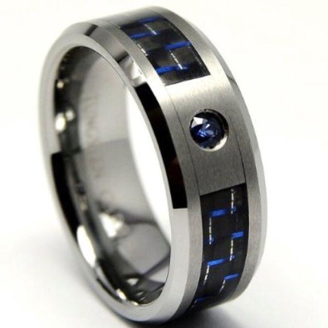 Blue Wedding Rings For Men Http Weddingku Casa